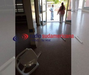 foto: Sujeto alcoholizado causó destrozos en el Hospital de Itatí