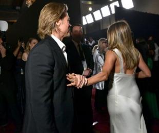 foto: Jennifer Aniston y Brad Pitt: las fotos del reencuentro más esperado