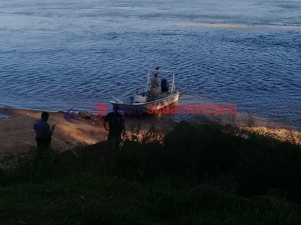 foto: Consumió alcohol y pastillas, se arrojó al Río Paraná y desapareció