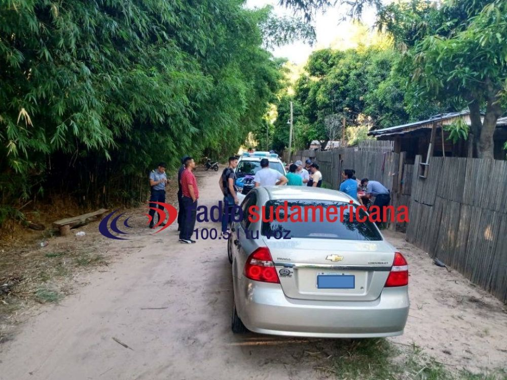 Detuvieron a dos personas por el robo de un auto en Saladas