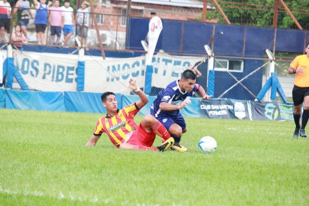 foto: De visitante Boca Unidos derrotó a San Martín de Formosa