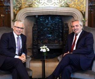 foto: El presidente Alberto Fernández recibió a Baltasar Garzón