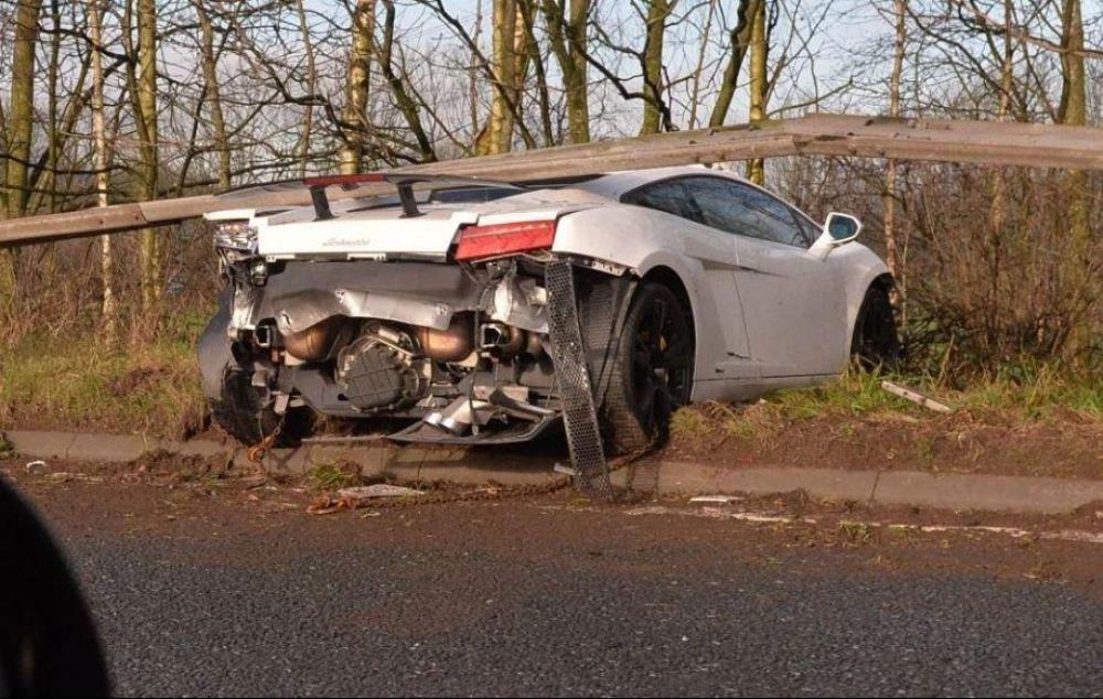 foto: Sergio Chiquito Romero sufrió un impactante accidente en Inglaterra