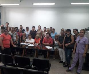 foto: El Colegio de Enfermeros se reunió con sus afiliados
