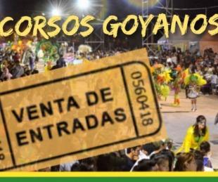 foto: Goya vivirá su segunda noche de carnaval
