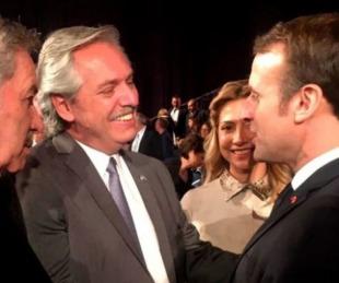 foto: Alberto Fernández se reunirá con Emmanuel Macron en París