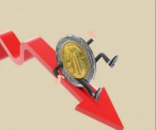 foto: En los primeros 11 meses de 2019 la economía cayó 2,3%