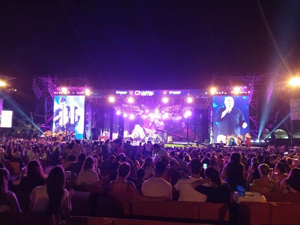 foto: Alrededor de 50 mil personas asistieron ya a la 30° FNCH