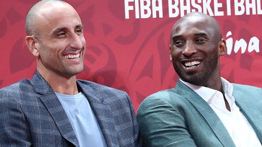 Devastado: el mensaje de Ginóbili por la muerte de Kobe Bryant
