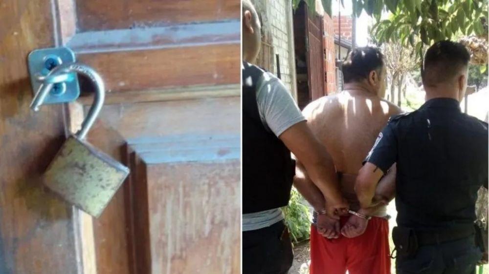 foto: Encerraba a su suegra en una jaula y la mataba de hambre