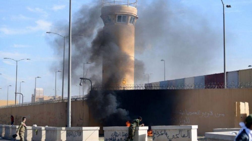 Atacaron con cohetes la embajada de Estados Unidos en Badgad