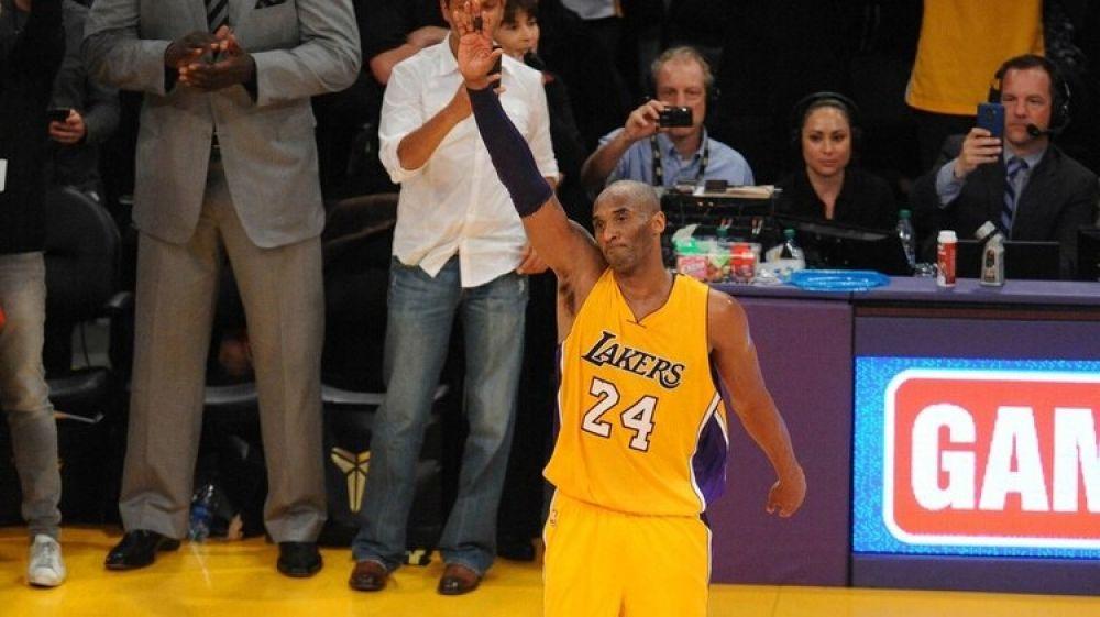 foto: Murió la leyenda de la NBA Kobe Bryant en un accidente aéreo