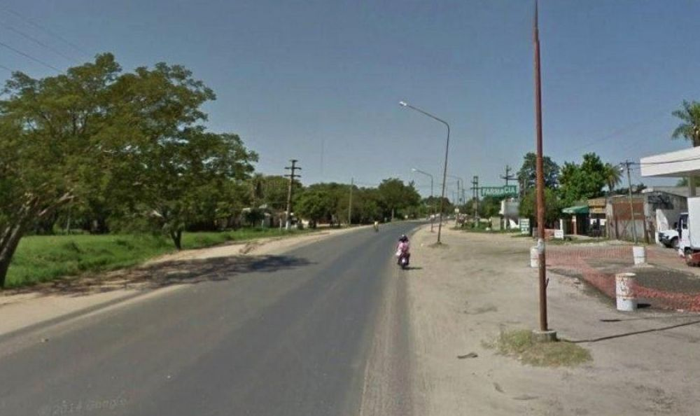 foto: Joven pareja que iba en moto murió tras chocar contra una camioneta