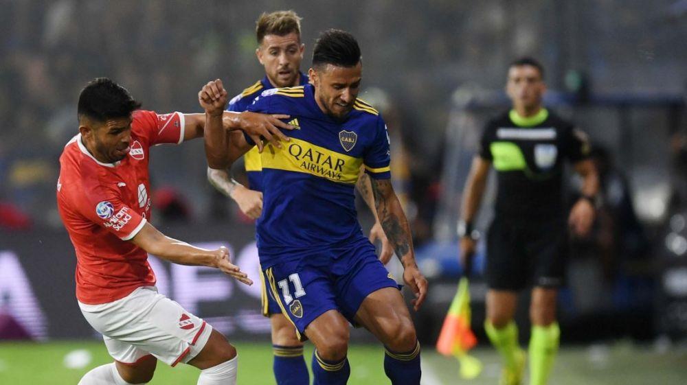 foto: Boca empató con Independiente y no pudo acercarse al puntero River