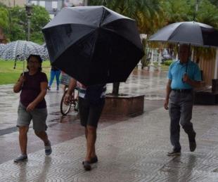 foto: ¿Llega la lluvia a la ciudad de Corrientes?