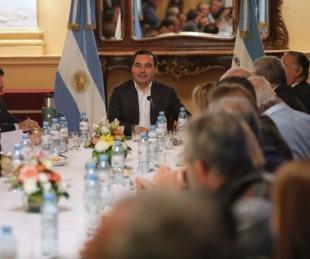 foto: Gustavo Valdés encabeza la primera reunión de Gabinete de 2020