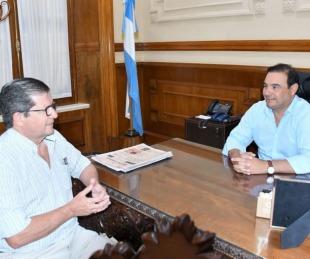 foto: Valdés recibió a Braillard Poccard para afianzar a Corrientes en el Senado