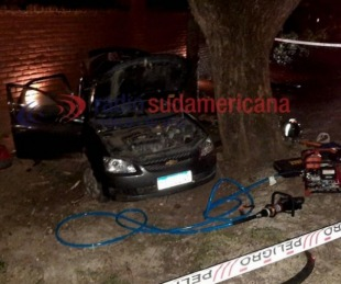 foto: Tragedia en ruta 43: dieron de alta a la esposa del policía fallecido