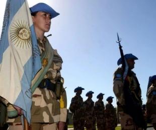 foto: El Gobierno nacional fijó subas salariales para las Fuerzas Armadas