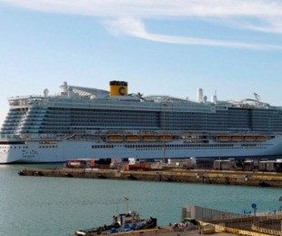 foto: Coronavirus: 35 argentinos dentro del crucero varado en Italia