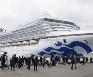 foto: Hay ocho argentinos en el crucero japonés en cuarentena