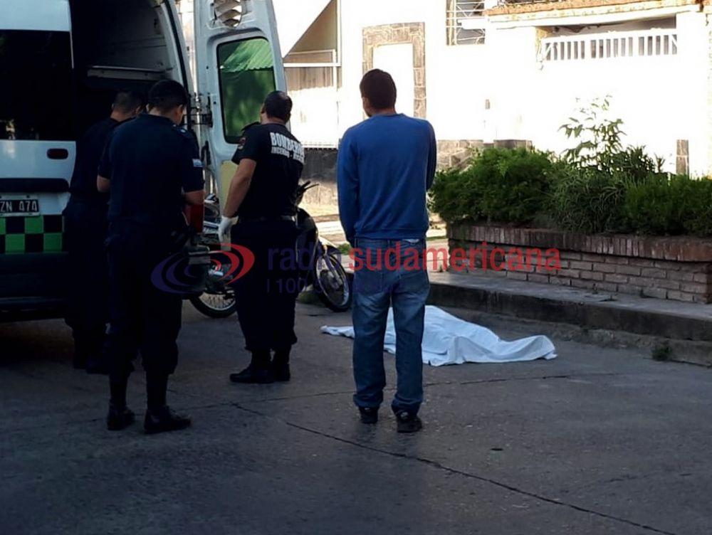 foto: Empleado municipal sufrió un paro, se desmayó y murió en plena calle
