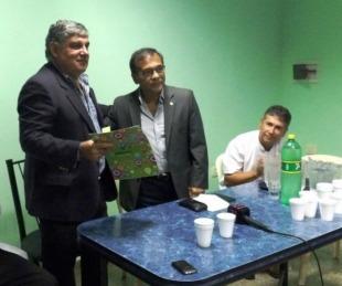 foto: Cardozo puso en funciones al interventor del hospital de Saladas