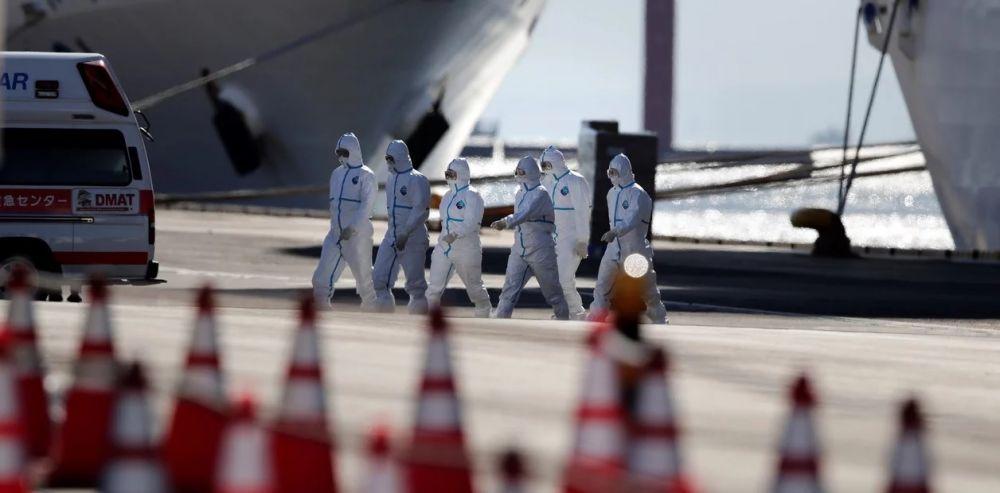 Coronavirus: hay 44 casos más en el crucero varado con 7 argentinos