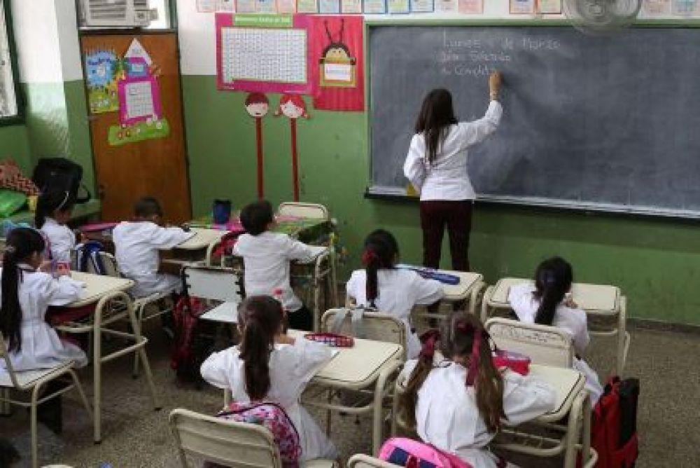foto: Ministerio de Educación: Provincia garantizó los 180 días de clases