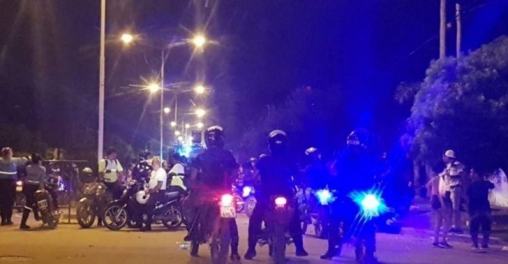 foto: Corso de las Mil Viviendas: 24 personas resultaron demoradas