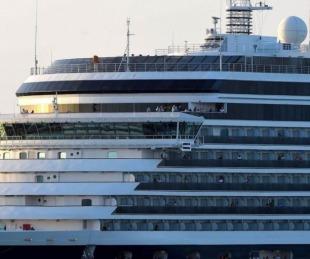 Coronavirus: hay cinco argentinos en el crucero varado en Camboya