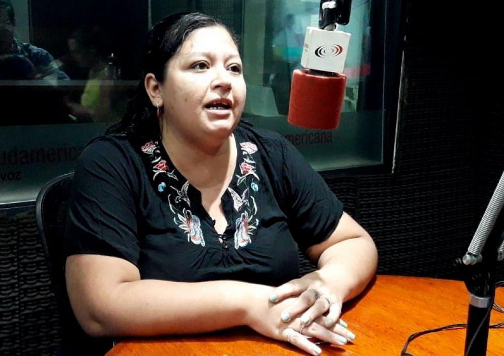 Silvina, una trabajadora del Ongay que ganó el viaje a las Cataratas
