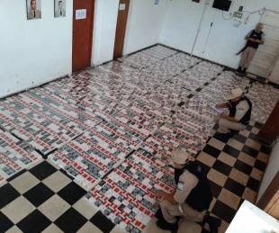 foto: Contrabando: Incautaron 1200 cartones de cigarrillos en Itatí