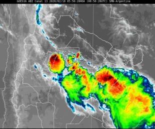 foto: Se renovó el alerta por tormentas fuertes para el sur de Corrientes