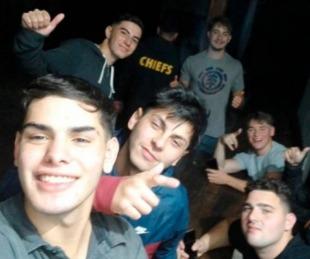 foto: La selfie que se sacaron los rugbiers tras matar a Fernando