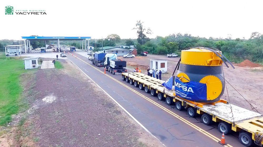 foto: Yacyretá avanza con el proceso de rehabilitación de turbinas