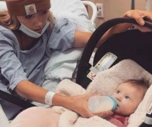 foto: Llamó al 911 porque su bebé no quería tomar la teta
