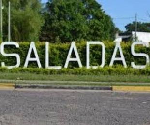foto: Macabro hallazgo en Saladas :