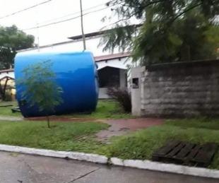 foto: Así quedó la ciudad de Esquina tras el temporal