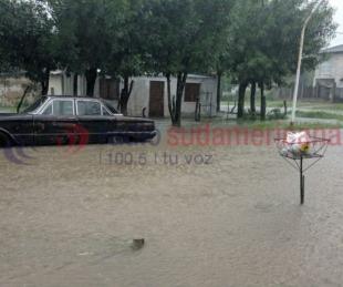 foto: Esquina y Sauce son las localidades más afectadas por las lluvias