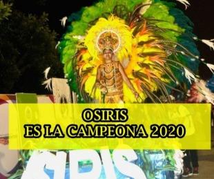 foto: Corsos barriales: Osiris se consagró campeona de la edición 2020