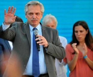 foto: Alberto Fernández ahora dijo que no habrá aumentos de tarifas