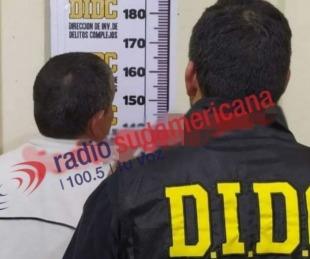 foto: Hombre detenido en Corrientes con presuntas causas en Chaco