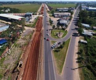 foto: Autovía de Ruta 12: con un buen avance pero sin obras en 2019