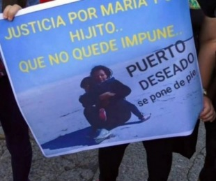 foto: La mujer abusada regresa a Salta con los restos de su hijo