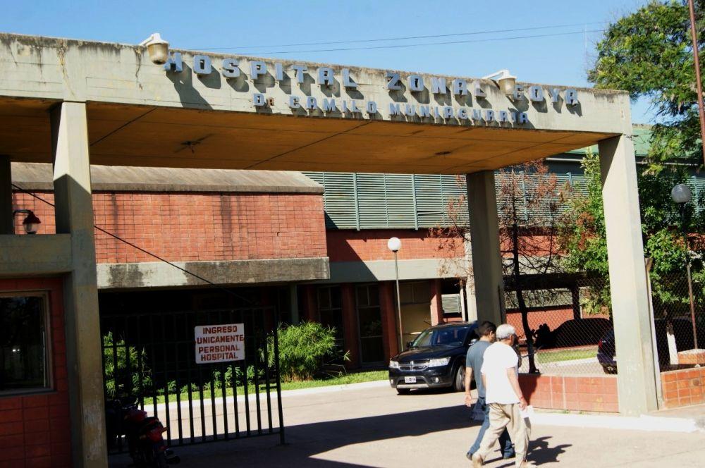 foto: Iba en moto, despistó y está grave en el hospital zonal de Goya