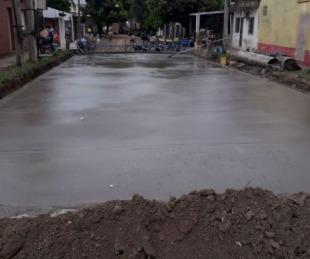 foto: Provincia concluyó la pavimentación de la calle Cerrito en el B° Arazaty