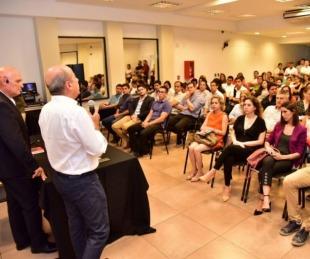 foto: El vicegobernador Gustavo Canteros visitó a emprendedores