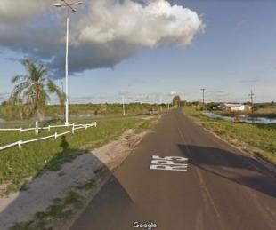 foto: Chaqueño derrapó, cayó de su moto y murió en el acto en Ruta 5