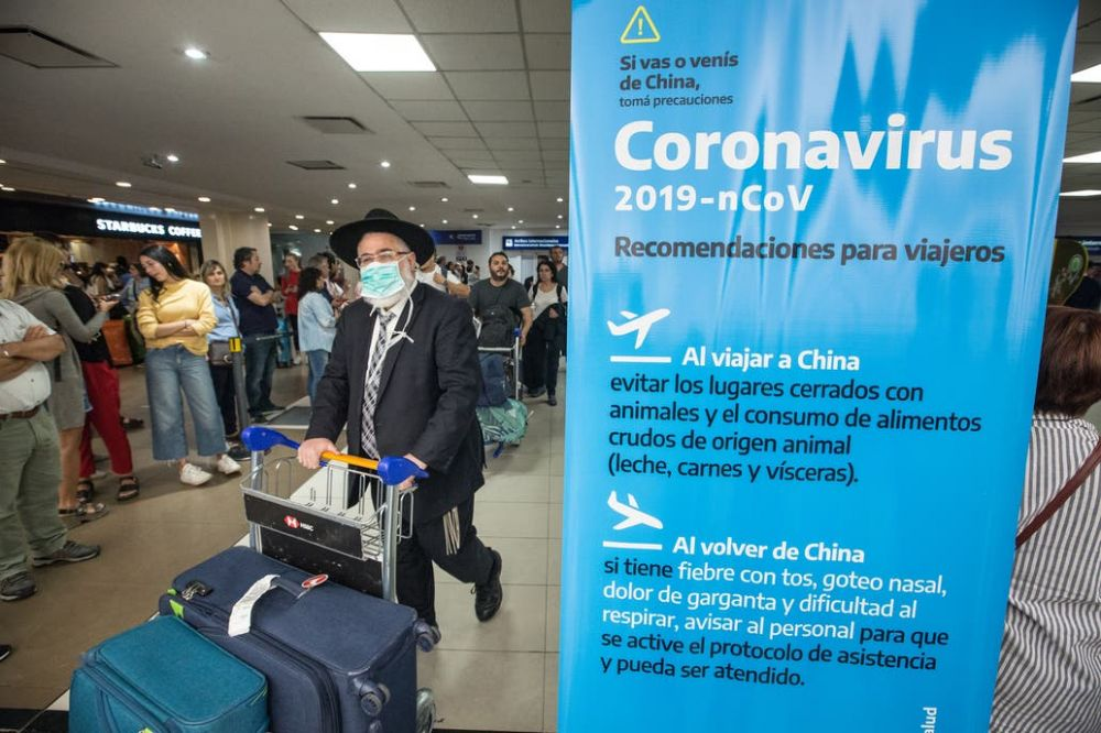 foto: Confirmaron el primer caso de coronavirus en la Argentina